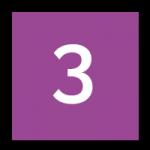 icon chiffre 3