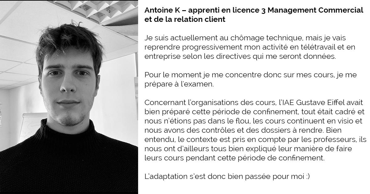 témoignage Antoine L3 MCRC