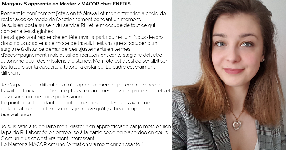 Témoignage Margaux - M2 MACOR